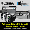 How Zebra ZC printers work great with IDpack in the Cloud