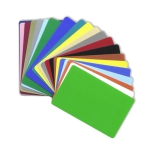 Colored CR80 Cards 30 MIL - Graphic Quality - 1,000 cards