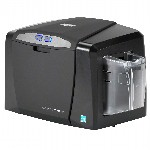 Fargo DTC1000Me Printer - Single-Sided - Monochrome - USB