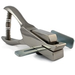 Hand-held Slot Punch with Adjustable Centering Guide