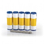 Magicard Cleaning Rollers (5 Rollers, 1 Roller Bar)