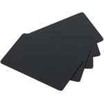 PVC Cards, Black Matt, Box Of 500