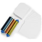 Zebra ZC10L Media kit - 400 PVC Cards + YMCO Ribbon