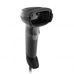 Zebra DS2208-SR - Area Imager - 1D, 2D, QR CODE, PDF417 - Corded - Black - USB Cable