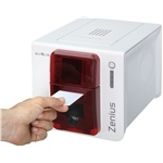 Evolis Zenius Expert line Fire Red Card Printer - USB & Ethernet
