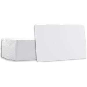 Blank PVC Cards White CR80 10 Mil