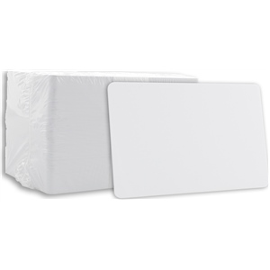 Blank PVC Cards White CR80 20 Mil