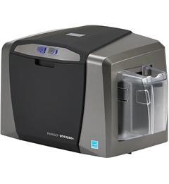 Fargo DTC1250e ID Card Printer - Dual-Sided - USB & Ethernet