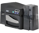 Fargo DTC4500e ID Card Printer - Single-Sided - USB & Ethernet