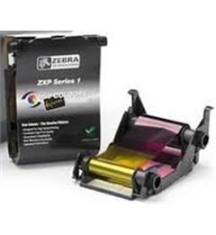 Zebra ZXP Series 1 Load-N-Go Ribbons - YMCKO Color Ribbon - 100 prints