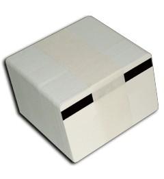 Blank PVC Cards - 30 Mil - LoCo Magnetic Stripe - 3 tracks - 500 cards