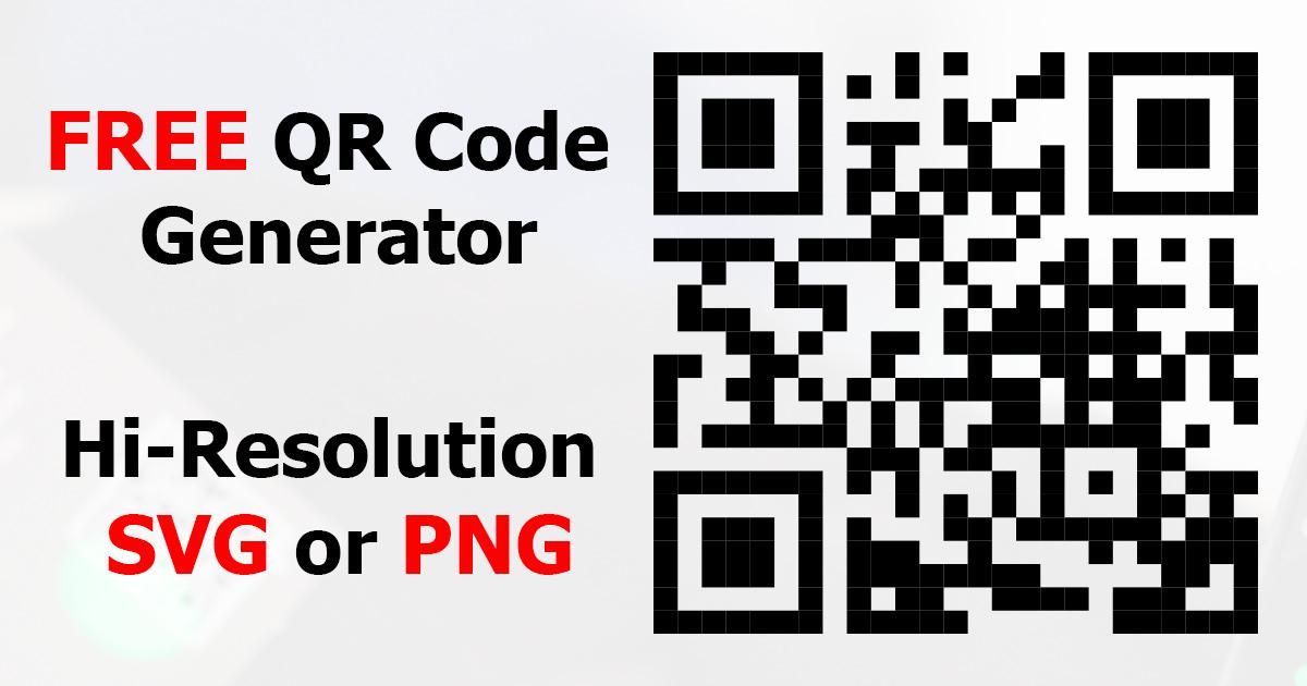 qr code generator print Promotions
