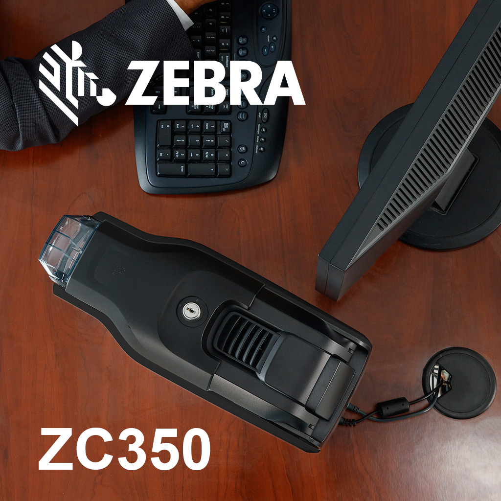 What can you do with Zebra's ZC350 special card printer ribbons