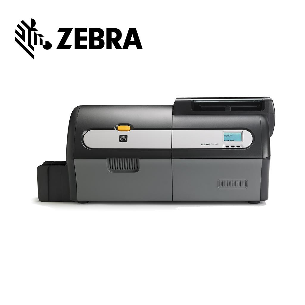 How to calibrate the ribbon sensor on a Zebra ZXP Series 7 printer